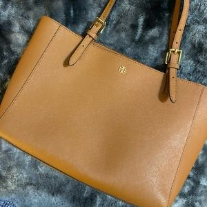 Tory Burch tan shoulder bag